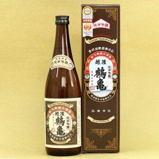 越後鶴亀 純米吟醸 古式伝統極寒仕込み 720ml