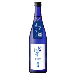 原酒造 越の誉 純米にごり酒 1.8L