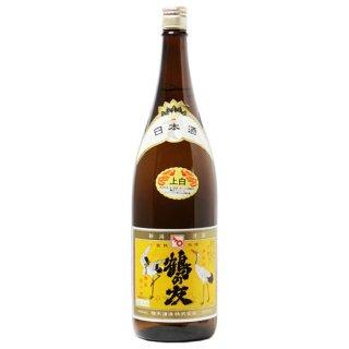 【新潟のお酒 通販】 樋木酒造(ひきしゅぞう)鶴の友 上白(普通酒)淡麗辛口 1.8l
