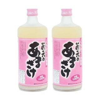 天領盃酒造 蔵元のあまざけ2本セット(ノンアルコール) 米麹100% 糖類・防腐剤無添加 720ml × 2本