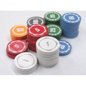 【セット販売】テンデイズゲームズオリジナル木製コイン(100枚×2セット)