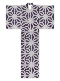 疋田麻型(紫)/浴衣