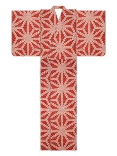 疋田麻型(赤)/浴衣