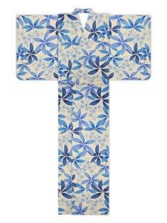 プルメリア(藍)/浴衣