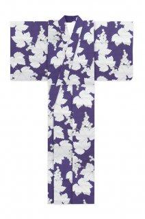 葡萄柄(紫地)/浴衣《2020年再販》