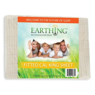 EARTHING<br> Fitted Sheet Cal King