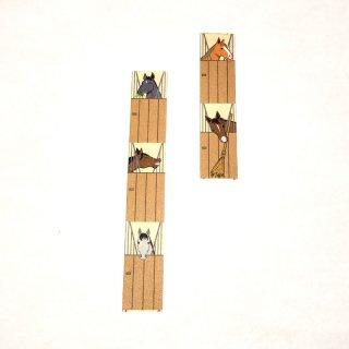 マスキングテープ〈15mm幅〉お絵描き大賞典【ひいデザイン】ハッピーステーブル