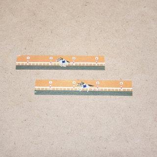 マスキングテープ〈15mm幅〉まいぽのますて コース(夕暮れ)