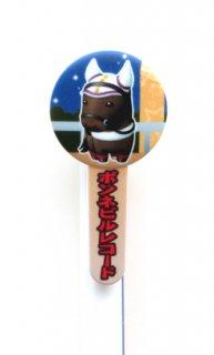 【誘導馬】ボンネビルレコード・丸型クリップ付きボールペン