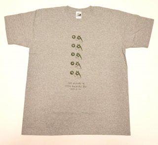 ロゴタイプ Tシャツ(グレー)