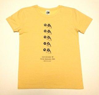 ロゴタイプ Tシャツ(クリーム)
