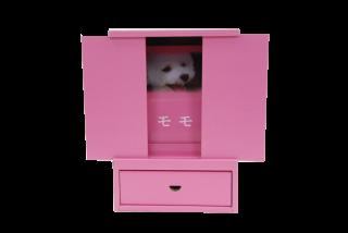 「はこぼ」ミニ仏壇型ピンク