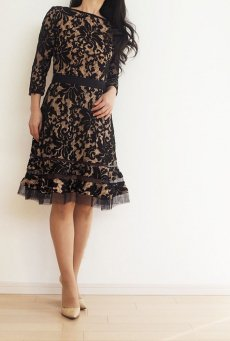 0cffe9b7391f4 黒 - タダシ・ショージ通販 TADASHI DRESS