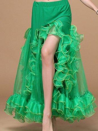 ベリーダンス衣装 スカート Q01099-cz(5色)