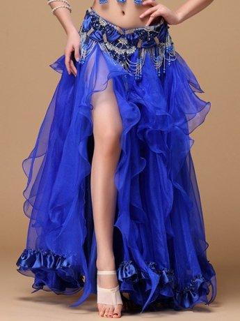 ベリーダンス衣装 スカート Q01129-cz (6色)