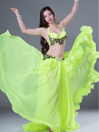 ベリーダンス衣装 豪華セット QC2796 (2色)