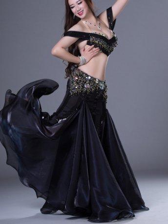 ベリーダンス衣装 豪華セットQC2797(2色)