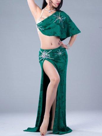 ベリーダンス衣装 豪華セットQC2817 (3色)