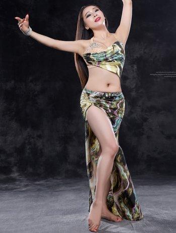 ベリーダンス衣装 豪華セット  QC2772  (2色)