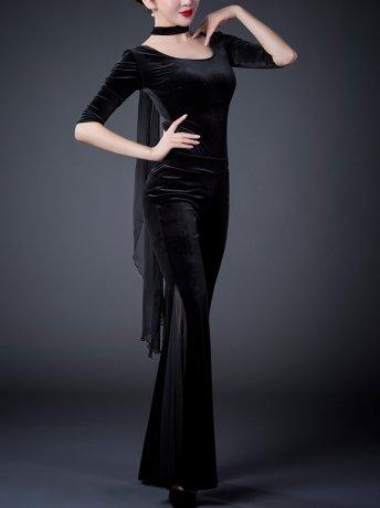 ベリーダンス衣装 レッスン着セット QC2860 (3色)
