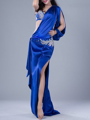 ベリーダンス衣装 豪華セットQC2821 (3色)