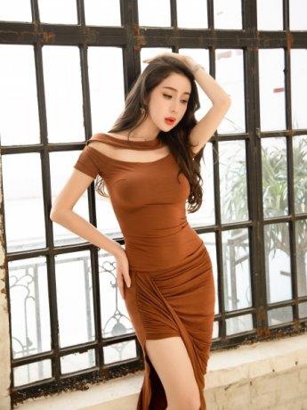 ベリーダンス衣装  レッスン着セットQC3050(2色)