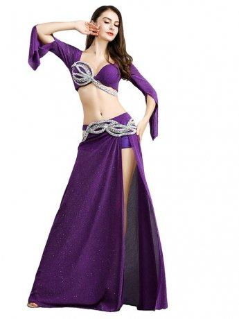 ベリーダンス衣装 ステージ衣装Smeela8824(2色)