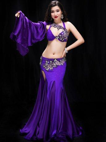 ベリーダンス衣装 ステージ衣装セットCD−YC041(3色)