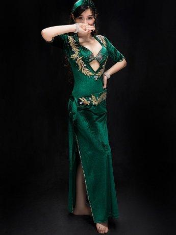 ベリーダンス衣装 ステージ衣装セットCD−YC042(3色)