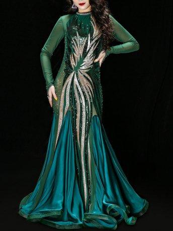 ベリーダンス衣装 豪華衣装セットCD−YC052(2色)