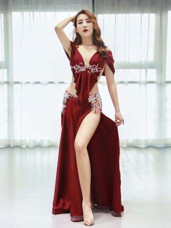 ベリーダンス衣装 豪華セットQC3100