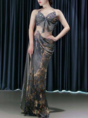 ベリーダンス衣装 豪華セットQC3111