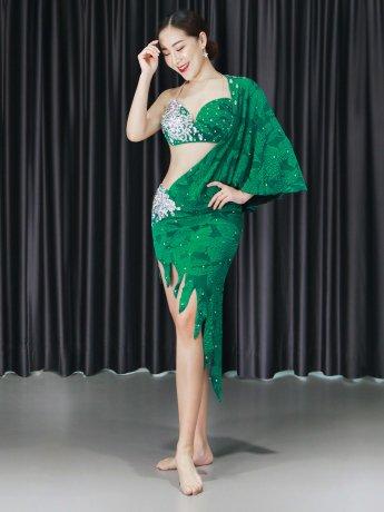 ベリーダンス衣装 豪華セットQC3136(2色)
