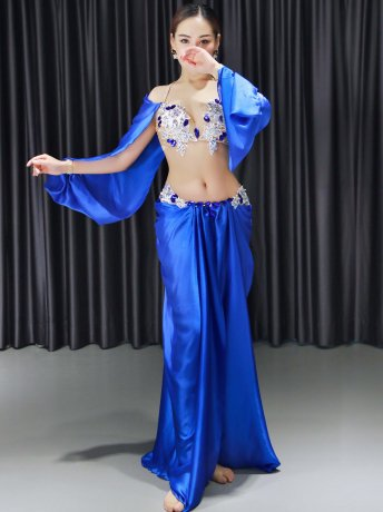 ベリーダンス衣装 豪華セットQC3135(3色)
