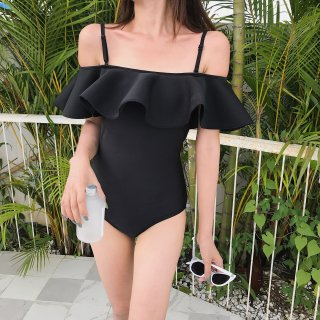 FLUTTERY SWIM DRESS
