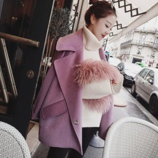 <img class='new_mark_img1' src='//img.shop-pro.jp/img/new/icons14.gif' style='border:none;display:inline;margin:0px;padding:0px;width:auto;' />COLOUR WOOLLEN COAT