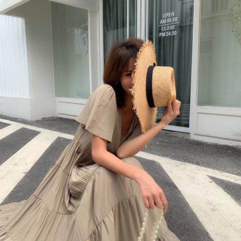 RXショートスリーブドレス