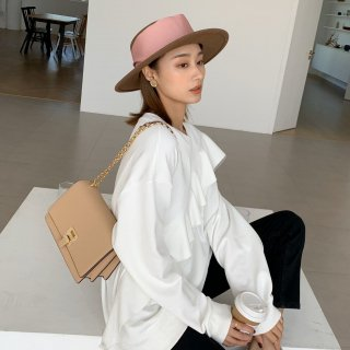 <img class='new_mark_img1' src='https://img.shop-pro.jp/img/new/icons14.gif' style='border:none;display:inline;margin:0px;padding:0px;width:auto;' />BEIGE WOOL RIBBON HAT