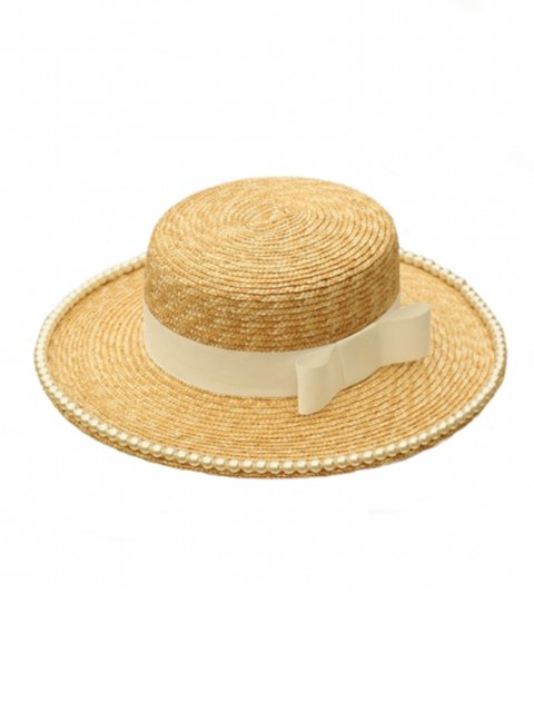 PEARL STRAW HAT