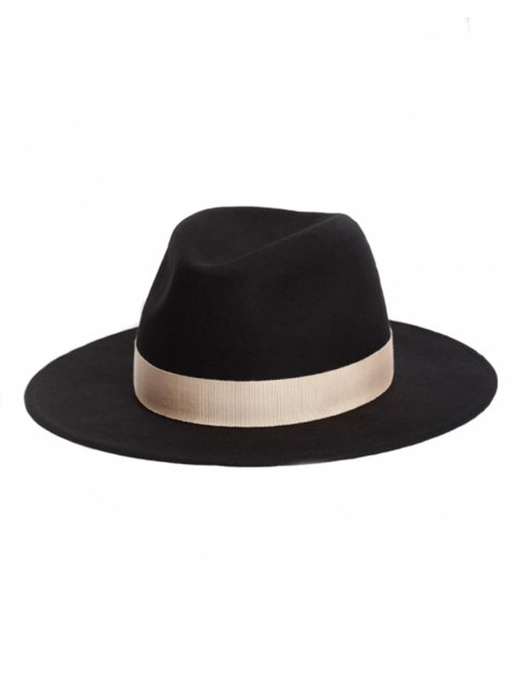 <img class='new_mark_img1' src='https://img.shop-pro.jp/img/new/icons14.gif' style='border:none;display:inline;margin:0px;padding:0px;width:auto;' />BLACK WOOL RIBBON HAT