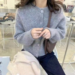 <img class='new_mark_img1' src='https://img.shop-pro.jp/img/new/icons14.gif' style='border:none;display:inline;margin:0px;padding:0px;width:auto;' />MOHAIR COLLAR CARDIGAN