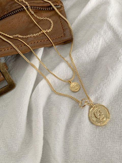 triple jane necklace