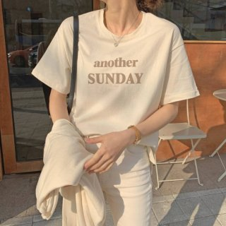 <img class='new_mark_img1' src='https://img.shop-pro.jp/img/new/icons14.gif' style='border:none;display:inline;margin:0px;padding:0px;width:auto;' />KR ANOTHER SUNDAY T