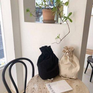 KR コットン巾着 BAG