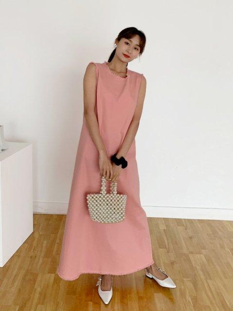 FG LONG DRESS LC PINK