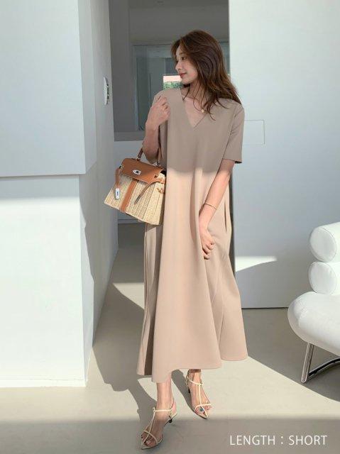 ショートスリーブ 2WAY DRESS