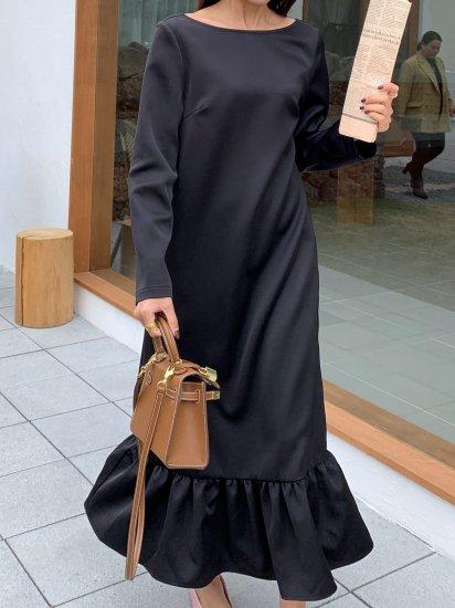 Charlotte V back dress BLACK