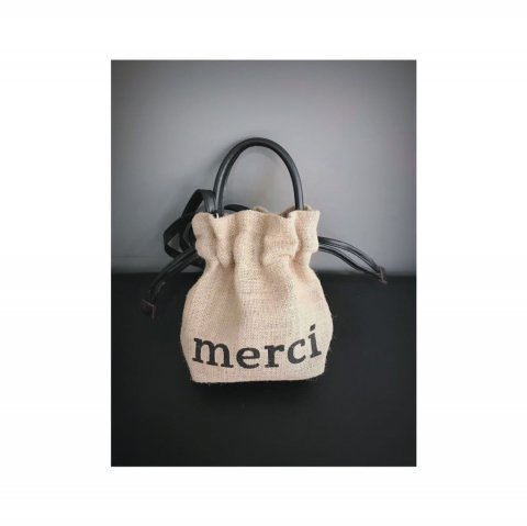 merci hemp mini bag