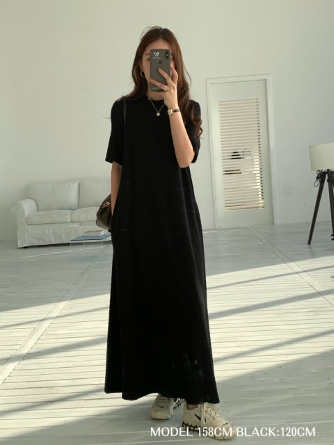 BB LONG T DRESS