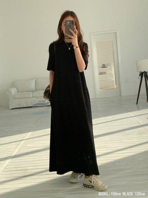 BB LONG T DRESS